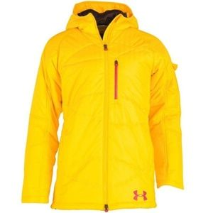 Under Armour Yellow Loft Cold Gear Jacket